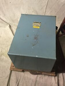 Jefferson Electric 211 161 208 Indoor Dry type Transformer 15kva