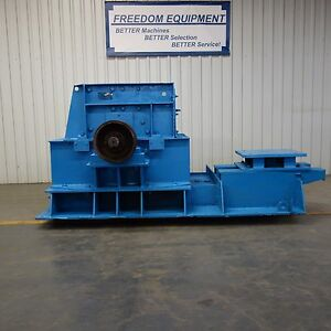 Used Jeffrey Radar Hog Hammermill Hammers Steel Base Model Ab Rods