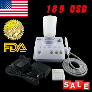 Portable Dental Ultrasonic Piezo Scaler Handpiece Torque Fit Ems Woodpecker Us e