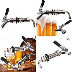 G5 8 Thread Draft Beer Faucet With 92 5mm Long Shank Combo Kit Kegerator Tap