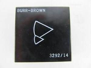 Burr Brown 3292 14 Ic Operational Amplifier Op Amp 3292