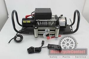 Trailer Hitch 12000 Electriv Winch Full Kit Ready To Go