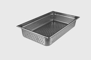 Starkcook Steam Table Pan Full Size Stainless Steel Stpf244p