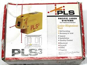 Pacific Laser Systems Pls Pls3 3 Beam Red Laser Level Works 100
