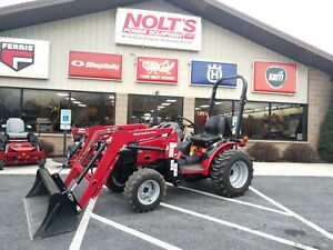 2014 Mahindra Max 28xl Compact Tractor Loader 28 Hp 4x4 Shuttle Shift 49 Hrs