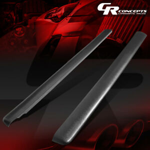 For 93 11 Ford Ranger Mazda B Series 6ft Black Truck Bed Caps Rail Protector