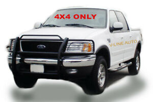 1999 2003 Ford F 150 Expedition 4x4 Only Grill Guard Hpt Brush Guard Black