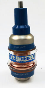 Ucshx 200 21 410 0207 Jennings Capacitor Variable Gas Dielectric 35000 Volts