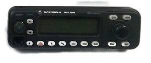 Motorola Mcs2000 Mobile Radio Control Front Panel Only