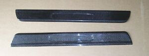 Carbon Fiber Door Sills Step Plates Kick Panel Fit Porsche 99 04 911 996 Carrera