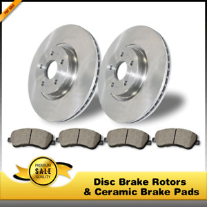 Rear Disc Brake Rotors Ceramic Pads 3pcs For Ford Expedition 2003 2006