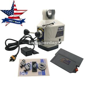 X axis Electronic Power Feed Milling Drill Machine 200rpm 450in lb 110v Us Stock