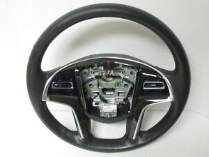 2015 2017 Cadillac Escalade Steering Wheel Black 23197782