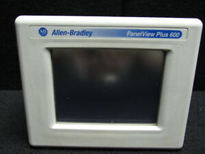 Allen bradley Panel View Plus 600 Ser C 2711p t6c20d Touch Panel
