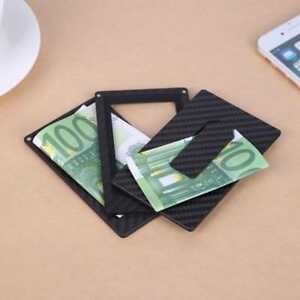 3 Layers Magnetic Modular Card Holder Clip Business Card Holder Organizer Wallet