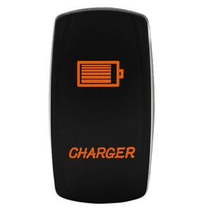 Rocker Switch Charger Orange Led Jeep Truck Wrangler