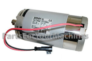 24v Electric Motor For Tennant T300 Orbital Head Assy Amer Mp80m 2200 Rpm