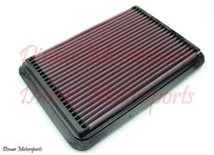 K n High Performance Air Filter For 86 04 Toyota Mazda Isuzu Geo 33 2050 1