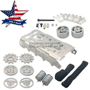 Robot Tank Chassis Metal Independent Suspension System Tracked F Arduino Diy Us