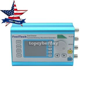 Fy2300h Waveform Generator 25mhz 2ch 250msa s 100mhz Frequency Signal Meter Us