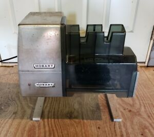 Hobart 403 Countertop Meat Tenderizer Cuber Works Good But Has Issues B