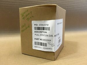 New In Sealed Box Simplex 2099 9758 Pull Station Fire Alarm