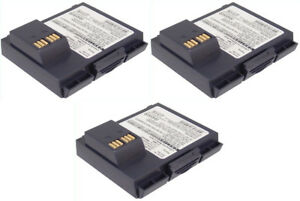 Verifone Vx510 Combo Pack Of 3 Batteries