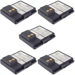 Verifone Vx610 Combo Pack Of 5 Batteries