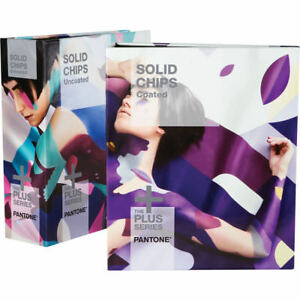 Pantone Solid Chips Coated Uncoated Bundle gp1606n 2018 Edition new