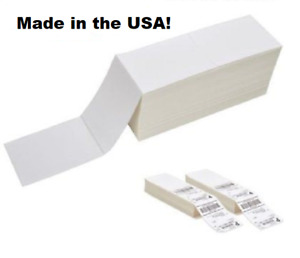 Pick Quantity 5 40 000 4x6 Fanfold Direct Thermal Perforated Labels Zebra Eltron