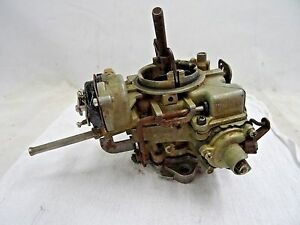 1962 69 Ford Mustang Falcon Holley 1 Bbl Carburetor Oem 6r4599b