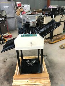 Printing Press Graphic Whizard Model K2 W two Numbering Machines