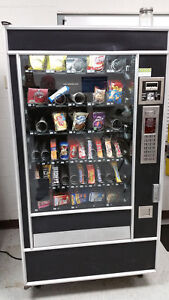 Snack Vending Machine Candy Chips Snacks 40 Item Vend