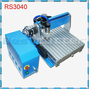 Hq Mini Desktop 800w Cnc Router Cutting Engraving Drilling Milling 300mm 400mm