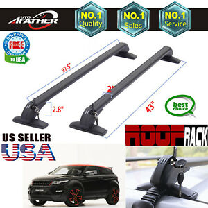 2x Car Top Rack Cross Bars Baggage No Rails For Land Rover Range Rover Evoque Us