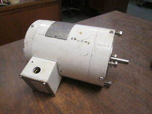 Marathon Powerwash Xt Washdown Motor N646 1hp 1800rpm Fr 56c Encl tefc Used