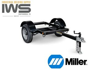 1ea Miller 301338 Hwy 225 Welder Trailer For Big Blue Models New Unused