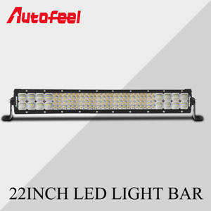 22inch 2688w 4 row Led Work Light Bar Spot Flood Combo Off road Truck Suv 20 24
