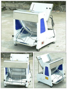 Commercial Heavy Duty Automatic Electric Bread Slicer 1 2 110v