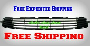 For 2011 2013 Toyota Corolla 4 Door Sedan 11 13 Front Bumper Lower Grille Insert