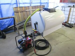 Asphalt Sprayer 300 Gallon Tank Sealcoating Equipment Driveways Portable Pump