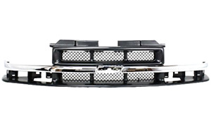 Front Grille Grill 2004 2003 2002 2001 2000 1999 1998 Chevrolet Chevy S10 New