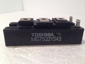 Toshiba Mg75q2ys43 Transistor Module Igbt New Old Stock