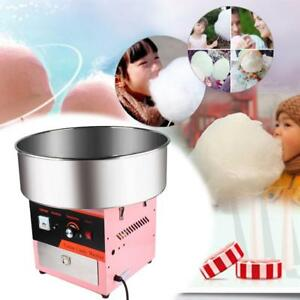 Electric Commercial Cotton Candy Machine Floss Maker Pink Vevor Candy v001 Us