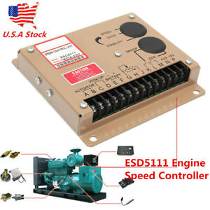 Esd5111 Generator Electronic Engine Speed Controller Governor Genset Parts Tools