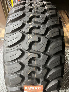 2 New 33x12 50r17 Patriot Mt Mud Tires M T 33125017 R17 1250 12 50 33 17 Lt Lre