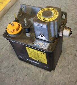 Lube Corp Automatic Lubricator Mmxl iii 200v 15 Min Interval free Shipping