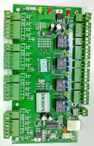 Tcp ip Network Wiegand26 Entry Attendance Access Panel Control Board For 4 Door