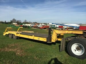 64 Lacrosse 32 5th Wheel Lowboy With Ramps