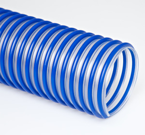 Clear Flexible Dust Collection Hose Flex tube Pu 60 Hf 8 X 6 Urethane Hose